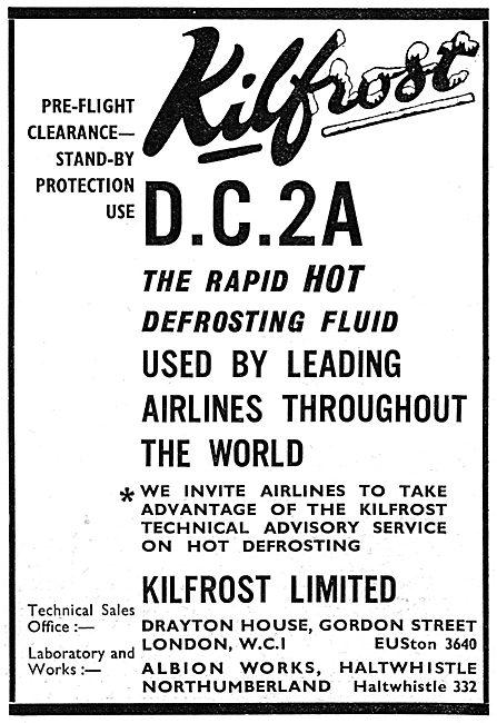 Kilfrost - De-Icing - D.C.2A Hot Defrosting Fluid