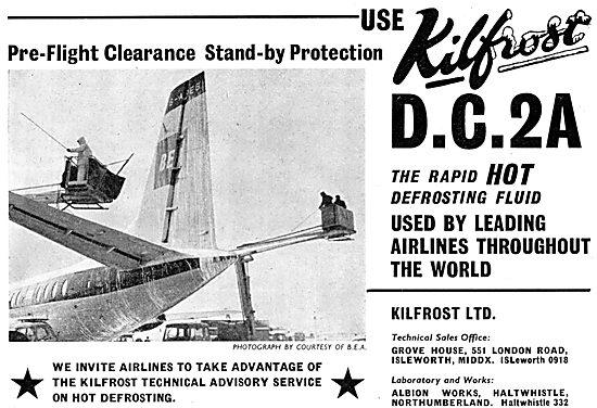 Kilfrost - D.C.2A Rapid Hot Defrosting Fluid