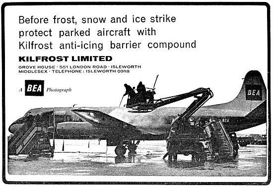 Kilfrost De-Icing & Anti-Icing Barrier Compound