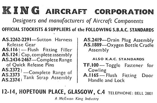 King Aircraft Corporation Glasgow