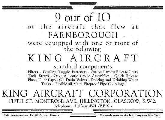 King Aircraft Corporation - Aircraft Components