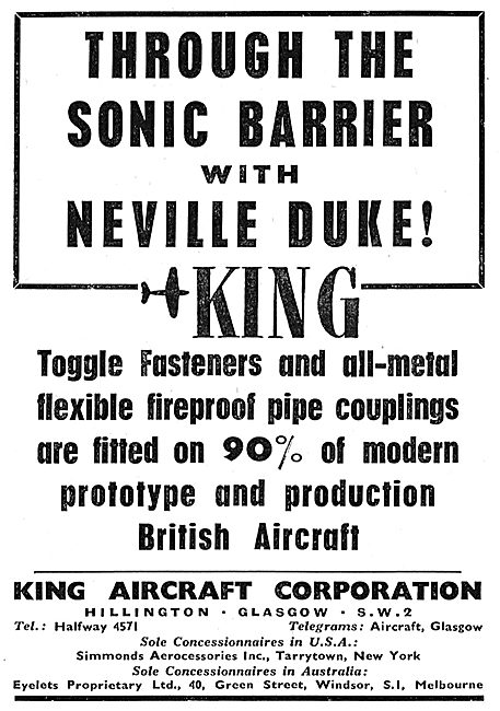 King Aircraft Corporation - King Fasteners