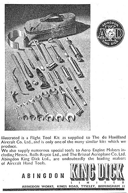 Abingdon King Dick - Spanners & Engineers Hand Tools