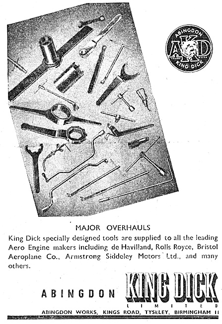 Abingdon King Dick - Spanners & Engineers Hand Tools