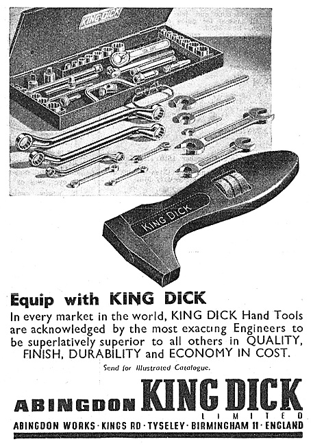 Abingdon King Dick - Spanners & Engineers Tool Kits