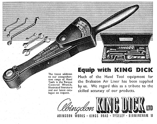 Abingdon King Dick Torque Wrench 1949
