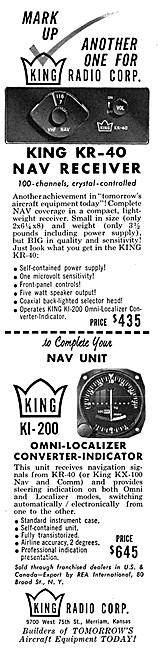 King Avionics - King KR-40 VHF Navigation Receiver