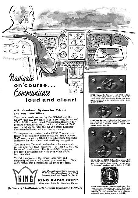 King Avionics - King Nav/Comm Systems