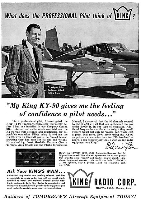 King Avionics - King KY-90 VHF Radio