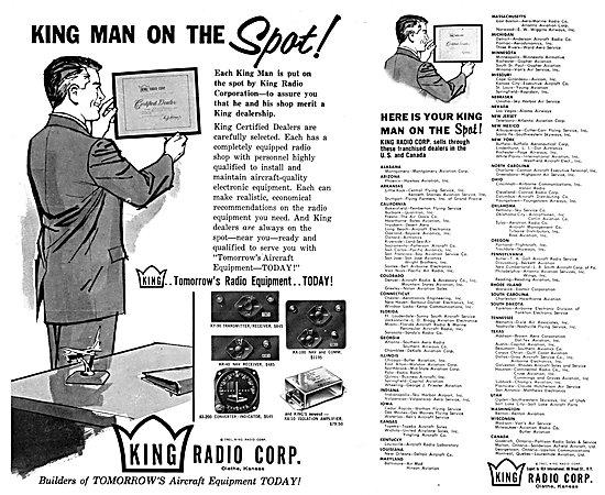 King Radio Corporation - Navigation & Communication Equipment