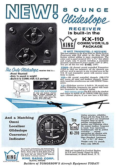 King Radio Corporation - King KX-110 Nav / Com