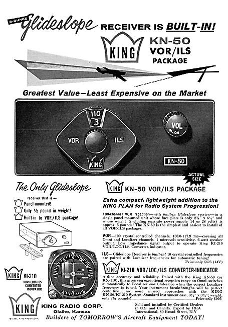 King Avionics. King KN-50 VOR/ILS