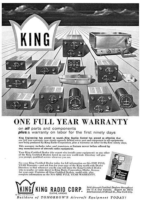 King Avionics Suites 1961