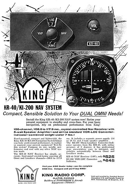 King KR-40 / KI-200 Navigation System