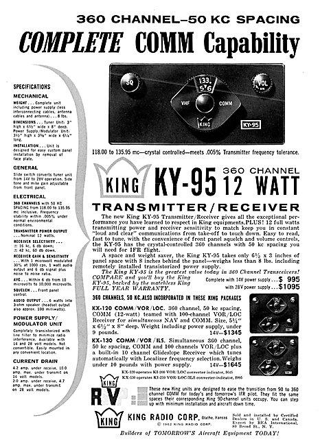 King KY-95 Nav/COM