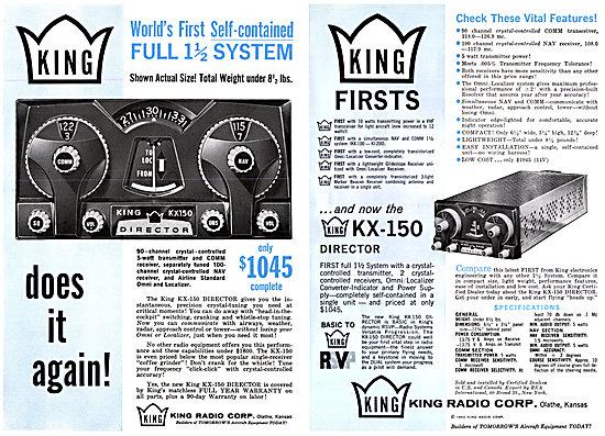 King KX-150 Director