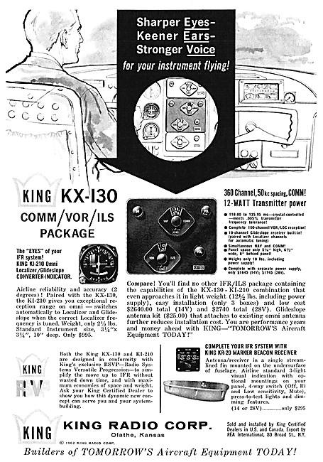 King Radio Corporation - King KX-130 Nav/Comm