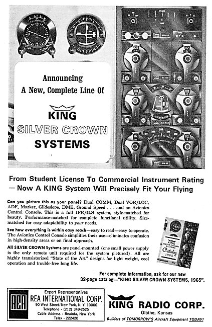 King Radio Corporation -  Silver Crown Systems