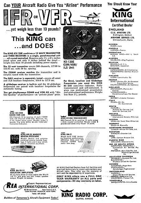 King Radio Corporation -  Nav Comm Systems