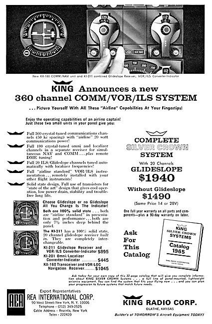King Radio Corporation - 360 Channel Comm/VOR/ILS