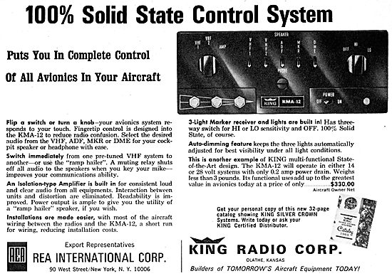 King Radio Corporation - KMA-12 VHF