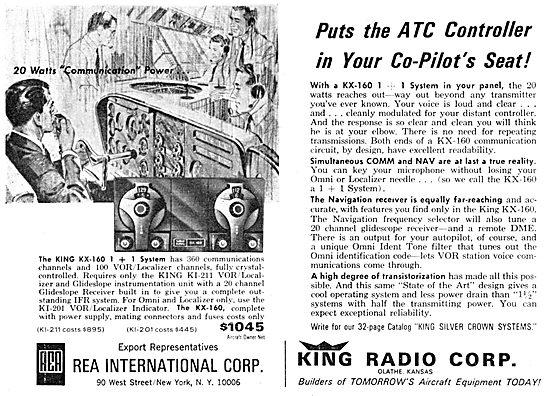 King Radio Corporation KX-160 Nav Comm