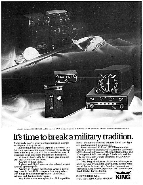 King Avionics For Military Aircraft