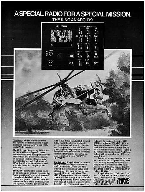 King Radio Corporation - King AN ARC-199 HF Comm