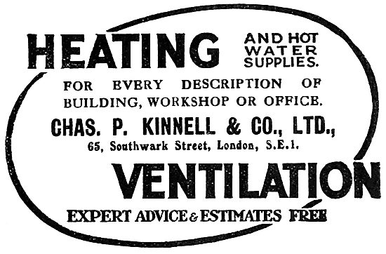 Chas P.Kinnell & Co: Factory Air Conditioning Installations