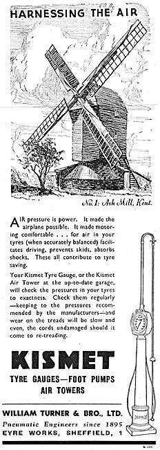 William Turner  Kismet Pneumatic Garage Equipment