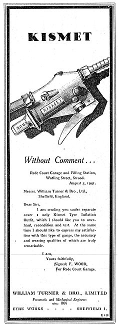 William Turner Kismet Pneumatic Tyre Inflation Pumps