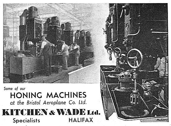 Kitchen & Wade Machine Tools. Honing Machines