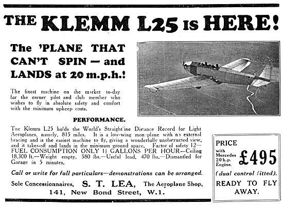 Klemm L25