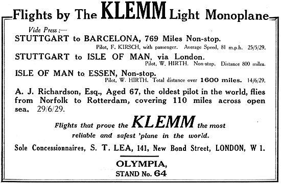 Klemm Aircraft - Klemm L25