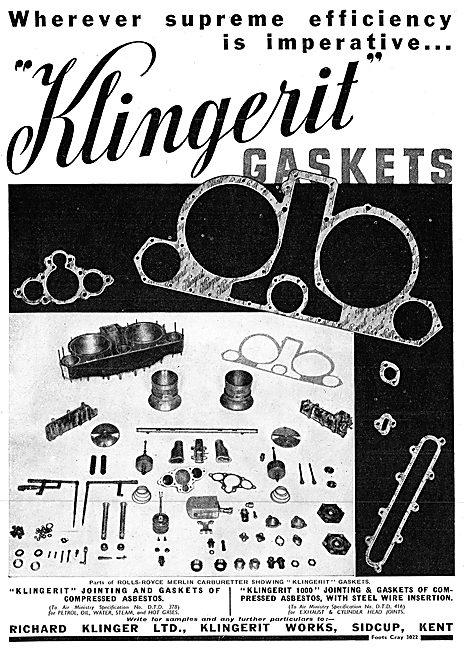 Klingerit Gaskets & Jointing