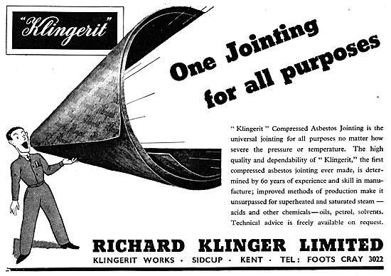 Klingerit Compressed Asbestos Jointing