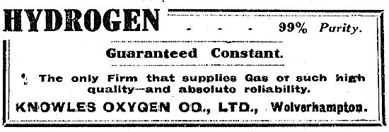 Knowles Oxygen Co Ltd For Constant Guaranteed Hydrogen