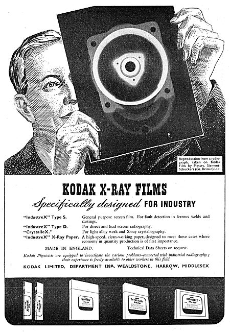 Kodak X-Ray Film