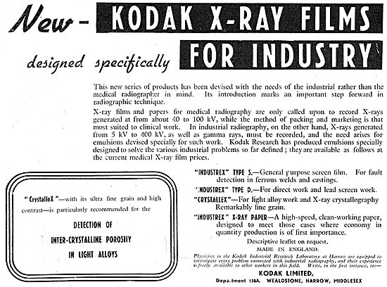Kodak X-Ray Film For Industry
