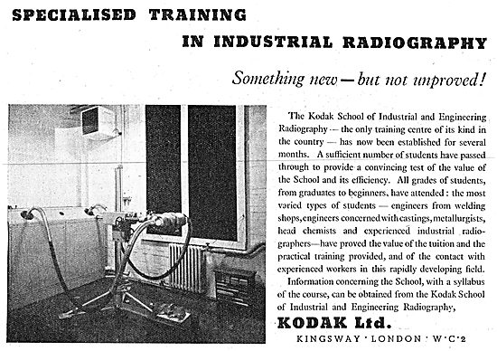Kodak Industrial Photography & Radiography