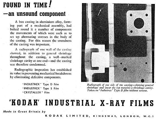 Kodak Industrial X-Ray Film