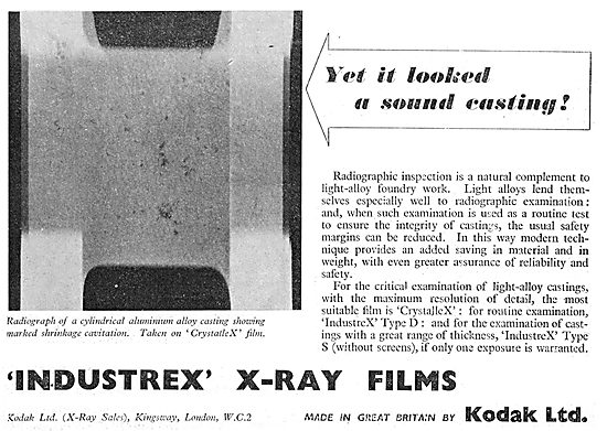 Kodak Industrex X-Ray Film