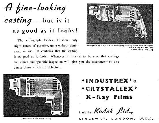 Kodak Industrex & Crystallex X-Ray Film