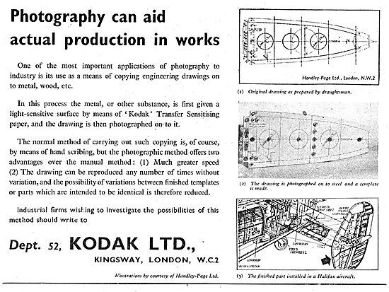 Kodak Industrial Photography For Production Engineering