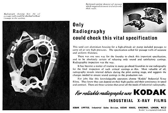 Kodak Industrial Radiography 1952