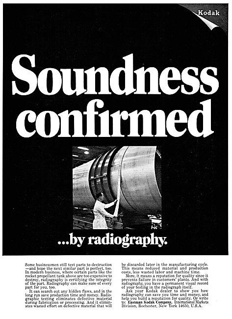 Eastman Kodak Industrial Radiography