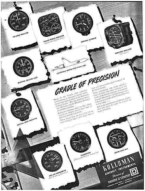 Kollsman Aircraft Instruments 1942