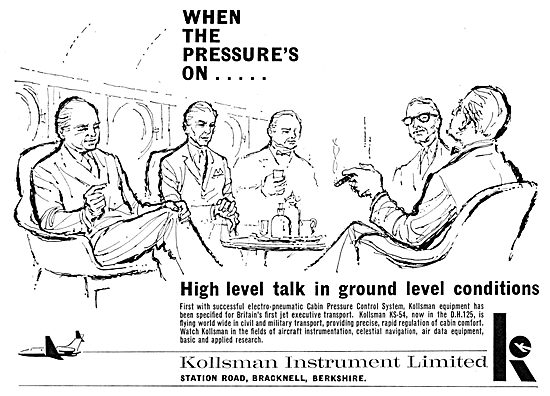 Kollsman Electro-Pneumatic Cabin Pressure Control System