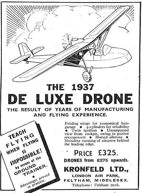 Kronfeld De Luxe Drone