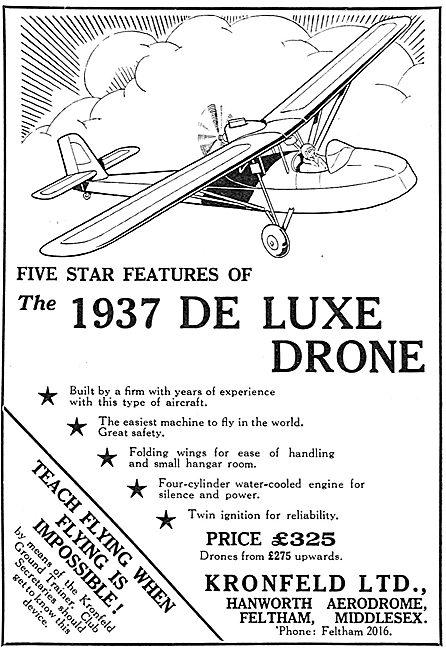 Kronfeld:  De Luxe Drone